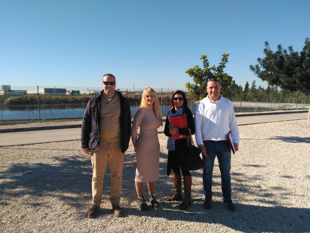 Visit to the demonstration sites in Murcia, Spain