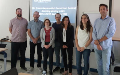 Ecosens Aquamonitrix General Meeting – Bilbao 26-27 September 2019