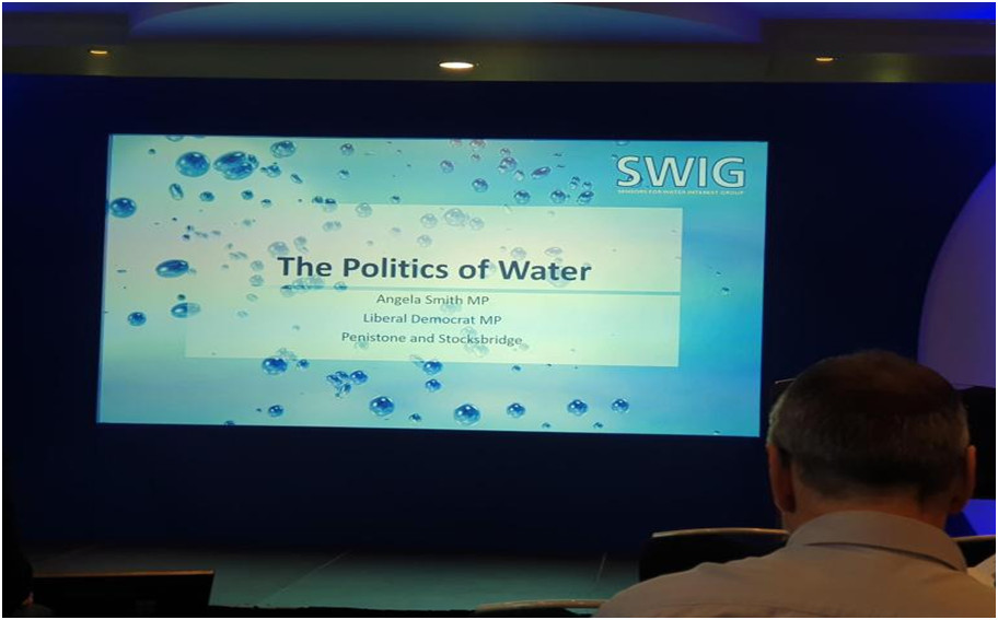 Sensors for Water Interest Group (SWIG) Biennial Conference, 25 -26 September 2019, Nottingham, UK