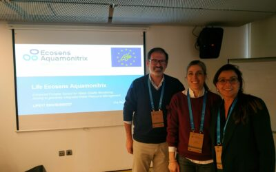 LIFE Ecosens Aquamonitrix project presented at EIP Conference