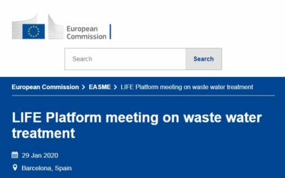 LIFE Platform meeting on waste water treatment