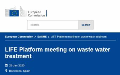 LIFE Platform meeting on waste water treatment