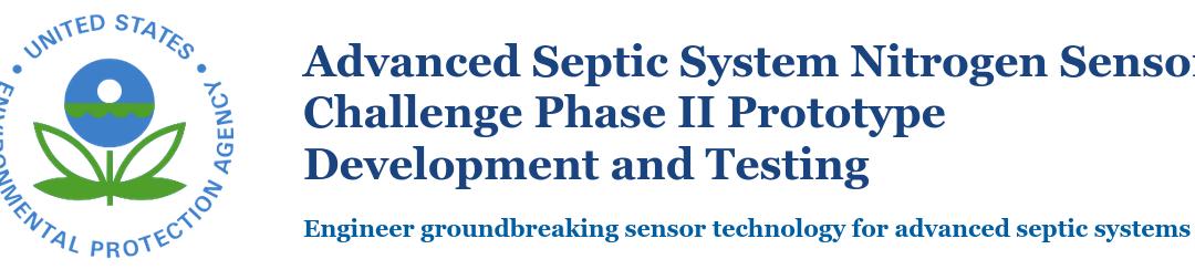 Advanced Septic System Nitrogen Sensor Challenge