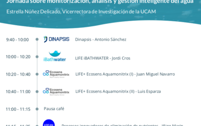 Jornada sobre Monitorización, análisis y gestión inteligente del agua